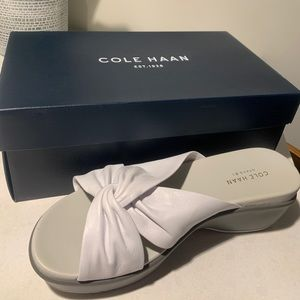 Cole Haan Leather Slide